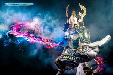 Odin - Legenary Eidolon of Thunder by AmenoKitarou