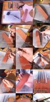 Tutorial Tuesdau: Leather Embossing by AmenoKitarou