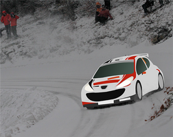 Peugeot 206 vector by ABS96