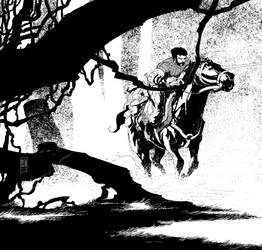 Belogun le cavalier by PatBoutin