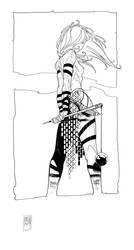 Warriorwoman 3 by PatBoutin