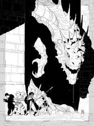 Couverture de La Geste des Chevaliers Dragons T.29 by PatBoutin