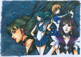 Outer Senshi by Azu1982
