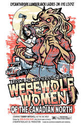 Werewolf Women of the Canadian North by Heartattackjack