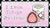 Ichigo Daifuku Stamp by Quolia