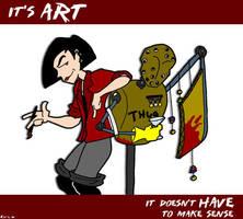 It's Art by jimnorth