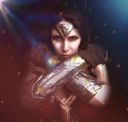Wonder Woman Cosplay by Telf-Aurora