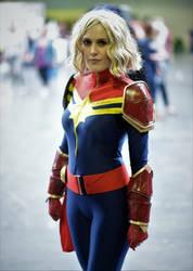 Captain Marvel by Telf-Aurora