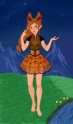 Deirdre - Fantasy Challenge: ... This is Me! by liz-blizz