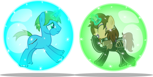 Magical Bubble Spell Practice Session by CyberApple456