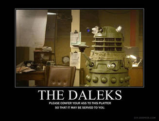 The Daleks Demotivational by C470g