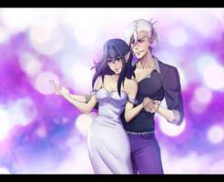 Sospecho que ya sabia bailar -  Cana and Avan by NarumyNatsue