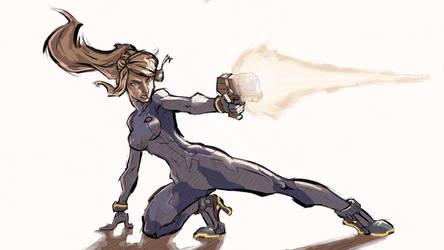 Zero Suit Samus by silbrandir