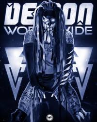 Finn Balor Demon Worldwide Poster. by CaqybKhan1334