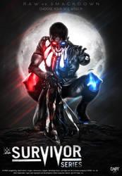 Survivor Series 2018 Poster ft Finn Balor. by CaqybKhan1334