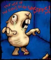 living dead hamster by maledictus