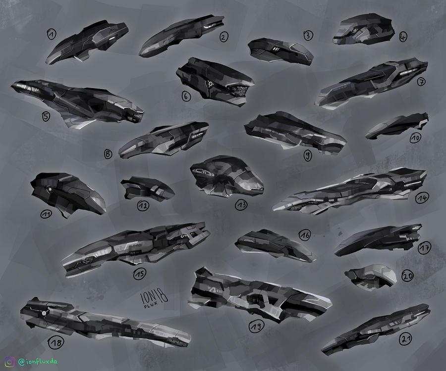 Spaceship-thumbs-02-da-0 by IonfluxDA