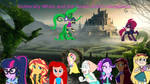 Fluttershy White and The Seven Ariel's Daughters by thebigteamadventures
