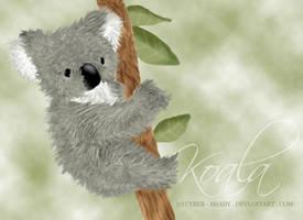 Koala Realism by Cyber-Shady