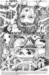 PRINCESS MONONOKE PAGE by grrlmarvel
