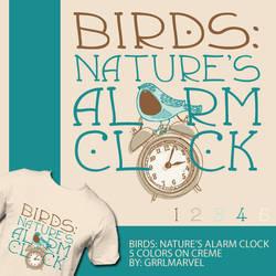 Birds: Nature's Alarm Clock by grrlmarvel