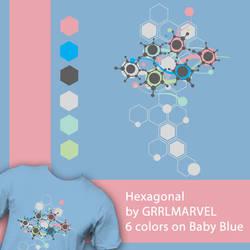 Hexagonal by grrlmarvel