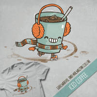 Iced Coffee by grrlmarvel