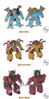 Custom Battle Beasts 3 by fourth-heir