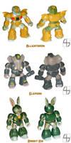 Custom Battle Beasts by fourth-heir