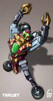 Beast Machines: Thrust by fourth-heir