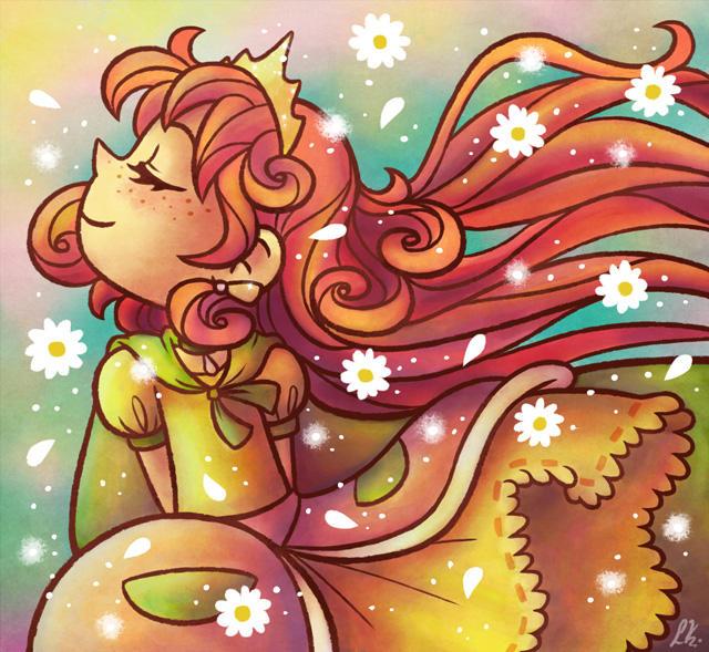 A sweet little princess by Liralicia