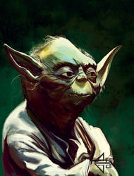 Master the Yoda he is by AaronGarcia