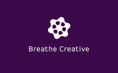 Breathe Creative Logo by CaliburlessSoul