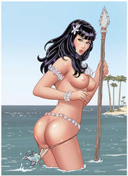 Bettie Page by rplatt