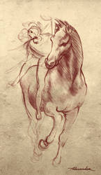 Da Vinci Sketch by PechlivanidisArt