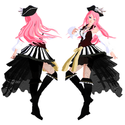 [MMD] Halloween collab 2018\TDA Luka Pirate by Natsumy-Paradise