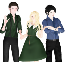 [MMD] New OC's: Bill, Sally, Mark by Natsumy-Paradise