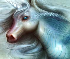 Unicorn by nell-fallcard
