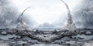 Frozen Gate by nell-fallcard