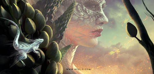 Dragons. Again. by nell-fallcard