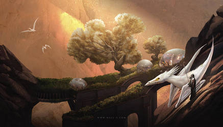 Dinotopia by nell-fallcard