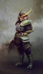 Samurai by nell-fallcard