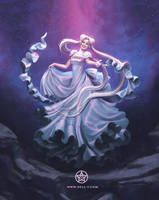 Princess Serenity - Sailor Moon Fan Art by nell-fallcard