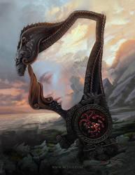 Rhaegar Targaryen Fan Art by nell-fallcard