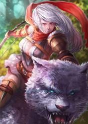 Blood Elf Ranger by Overweight-Cat