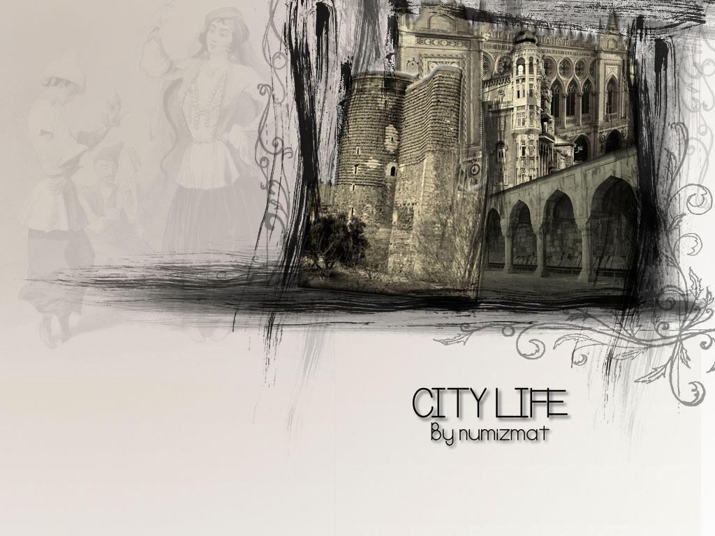 City Life - Baku by Numizmat