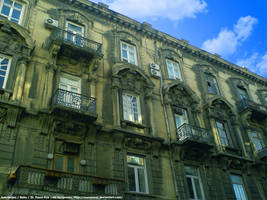 Our street in Baku by Numizmat