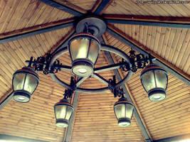 The chandelier by Numizmat