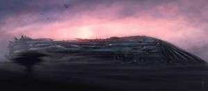 Crow Train by AlexRuizArt