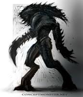 Satyr Alien by AlexRuizArt
